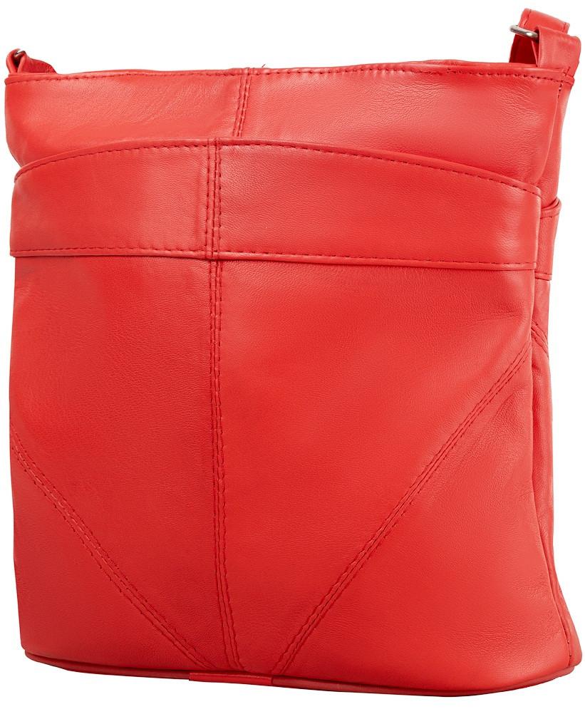31ef8c4a1eb4 Женская кожаная сумка TUNONA SK2418-1 красный - SUPERSUMKA интернет магазин  в Киеве