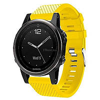 Смарт-часы Garmin Fenix 5s Sapphire Black with Yellow Silicon (010-01685- fbe2ded6d08