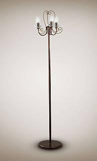 Торшер кованный в классическом стиле  15830