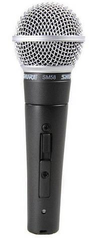 Мікрофон вокальний динамічний Shure SM58SE, фото 2