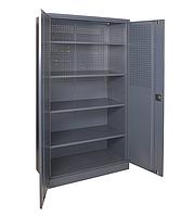 Шкаф инструментальный ШИ-10/4 П (1970х1000х500 мм), металлический шкаф для инструментов, фото 1
