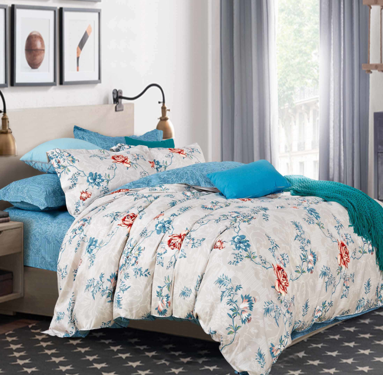 Комплект постельного белья из элитного сатина Феличита