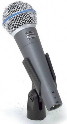 Мікрофон вокальний динамічний Shure BETA 58A, фото 2