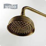 """Душова стійка бронзова Welle """"Amalia"""" 37008T4HO-1M1410-GH1315, фото 2"""