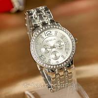 Часы GENEVA Paidu Silver  Swarowski