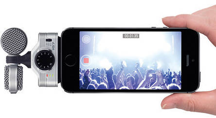 Мікрофон конденсаторний (iPhone, iPad, iPod) ZOOM iQ7, фото 2