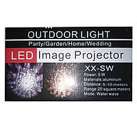 Лазерный проектор wall light led image projector