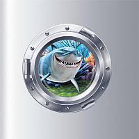 "Интерьерная наклейка ""Немо. Nemo Акула W023"""