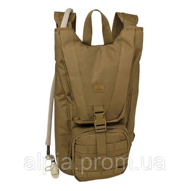 Рюкзак с резервуаром для воды Red Rock Piranha Hydration 2.5 (Coyote)