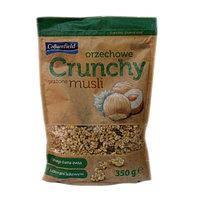Кранчи Мюсли Crownfield Crunchy - с орехами 350 г