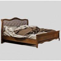 Кровать 140 Палермо Мебус с высоким изножьем