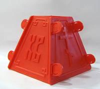 Форма разборная пластиковая для пасхального кулича (средняя)