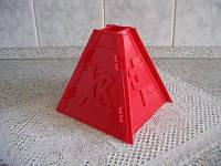 Форма разборная пластиковая для пасхального кулича (большая), фото 1