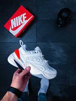 """Мужские кроссовки Nike M2K Tekno """"Phantom"""" (Hyper Crimson) (Реплика)"""
