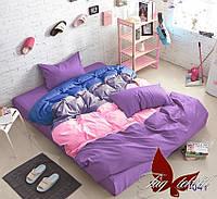 Семейный комплект постельного белья Color mix APT041