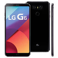 "Смартфон LG G6 4/64GB Black, 13+13/5Мп, 5,7"" IPS, Snapdragon 821, 1sim, 4G, Гарантия 3 мес."