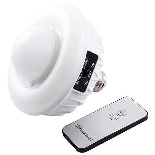 Энергосберегающая светодиодная лампа с аккумулятором, функцией аварийного питания и пультом 9816 - domovenok в Одессе