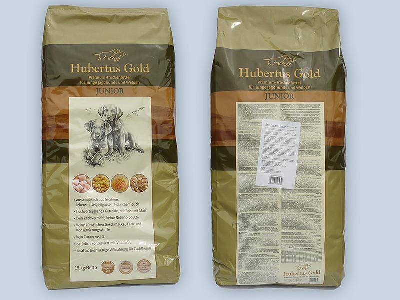 Корм Hubertus Gold Junior Хубертус Голд Юніор для цуценят 14 кг