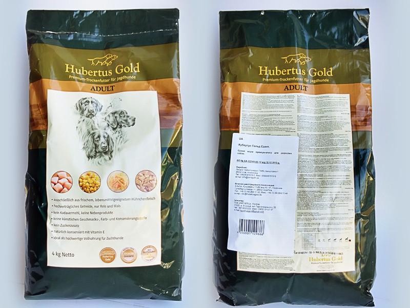 Корм Hubertus Gold Adult Хубертус Голд Едалт для собак 14 кг