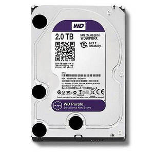 HDD SATA 2TB Western Digital Purple (WD20PURZ)