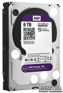 HDD SATA 6TB Western Digital Purple (WD60PURZ)