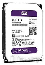 HDD SATA 8TB Western Digital Purple (WD80PURZ)