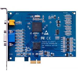 Плата відеозахвату Девлайн Линия PCI-E 8x25 Hybrid IP
