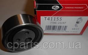 Натяжной ролик ремня ГРМ Renault Sandero 1.4-1.6 до 2010 года (Gates T41155)(высокое качество)