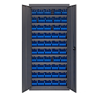 Шафа інструментальна для контейнерів ЯШМ-14 вик. 1 (1800х800х300 мм) з кюветами 701 - 50шт, фото 1