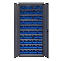 Шкаф инструментальный для контейнеров ЯШМ-14 исп.1 (1800х800х300 мм) с кюветами 701 - 50шт