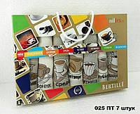 Набор кухонных полотенец Кофе неделька 7 штук Турция