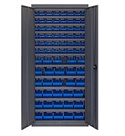 Шкаф инструментальный для контейнеров ЯШМ-14 исп.2 (1800х800х300 мм) с кюветами 701-30 шт, кюветами 702-48 шт