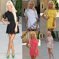 Платье ~Гипюр~ +++5 цветов+++ , фото 1
