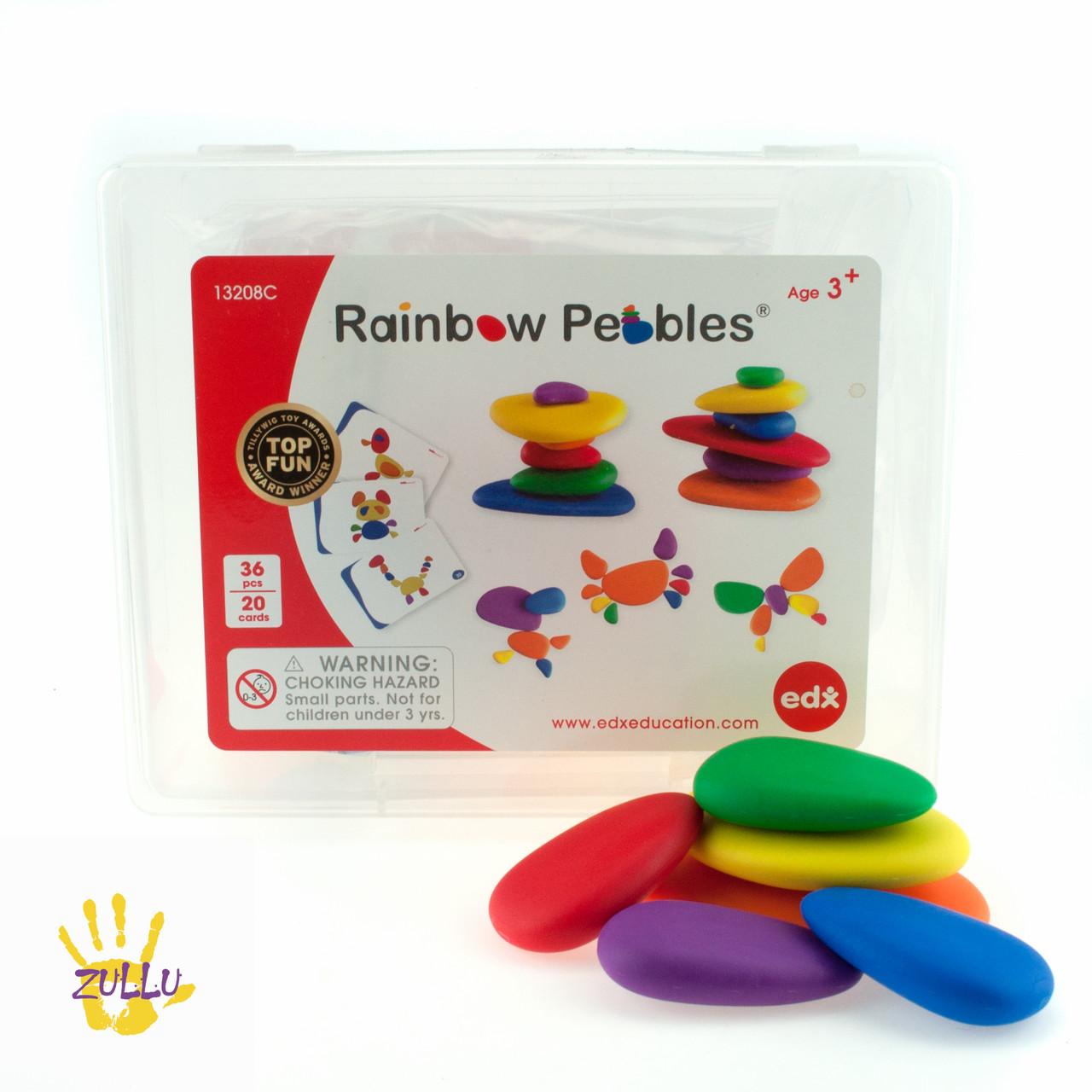Радужная галька. Классический набор EDX education Rainbow Pebbles