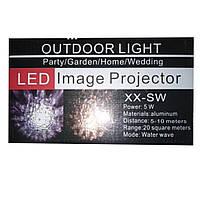 Лазерный проектор wall light led image projector XX-SW