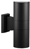Фасадный архитектурный светильник DH0702 без лампы 2хE27 черный