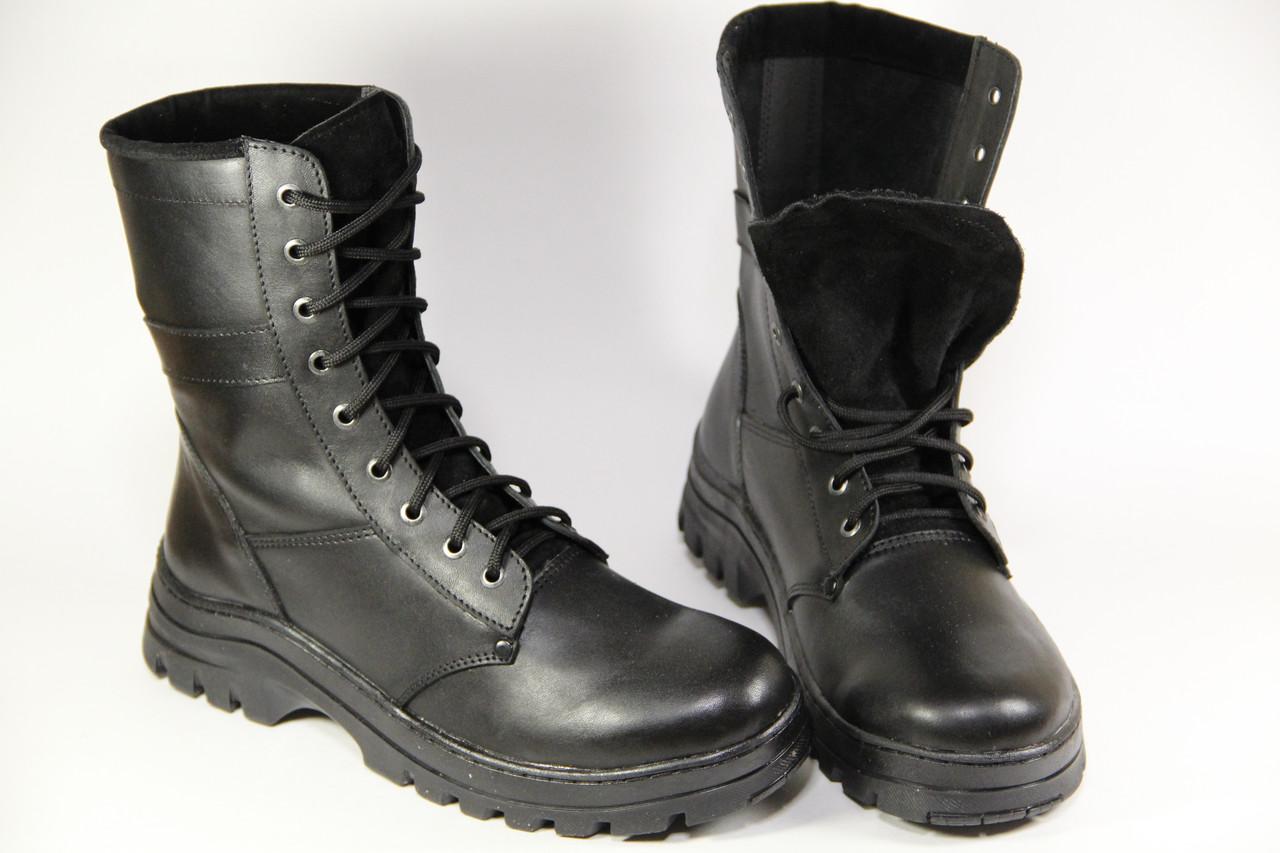 Тактические ботинки из натуральной кожи БАРС