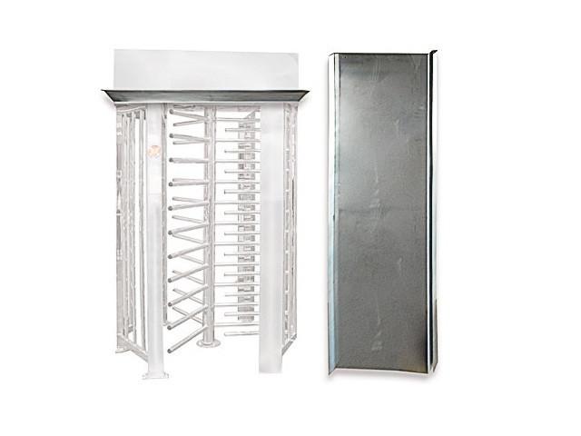 Комплект козырьков для SESAME/SESAME BASIC, крашеная сталь (RAL 7035 или 9005)