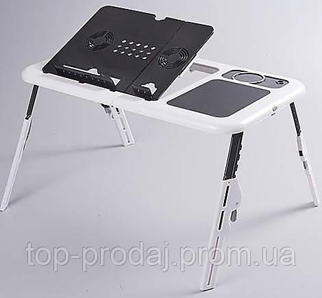 Подставка LD 09 E-TABLE, Многофункциональный столик для ноутбука, Столик кулер, Подставка с охлаждением