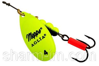 Вертушка Mepps Aglia Fluo Chartreuse №4 (9 м)