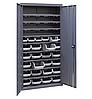 Шкаф инструментальный для контейнеров ЯШМ-18/2 (1800х900х410 мм) с кюветой А-300 - 20 шт, кюветой А-200 - 30шт