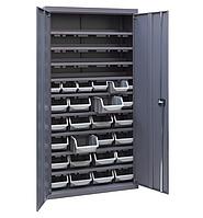 Шкаф инструментальный для контейнеров ЯШМ-18/2 (1800х900х410 мм) с кюветой А-300 - 20 шт, кюветой А-200 - 30шт, фото 1