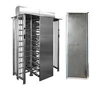 Комплект козырьков для SESAME TWIN/BICYCLONE, крашеная сталь (RAL 7035 или 9005)