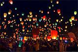 Китайський небесний ліхтарик, літаючий повітряний ліхтар, фото 7