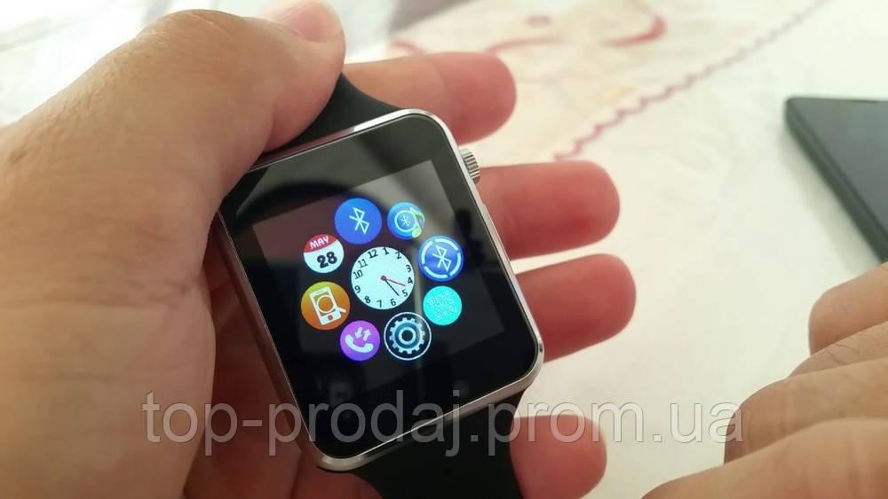 Часы Smart watch A1, Умные часы, Часы-телефон, Часы с блютузом, Смарт часы, Наручные часы с сим картой