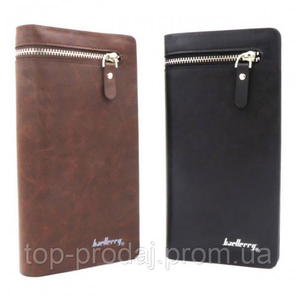 Кошелек Baellerry S618-357 BLACK 3571, Мужское портмоне, Клатч кошелек мужской, Бумажник для мужчины