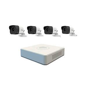 IP комплект видеонаблюдения Hikvision NK4E0-1T