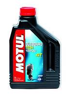 Моторное масло для водного транспорта 4-х тактное полусинтетика MOTUL OUTBOARD TECH 4T SAE 10W30 (2L)
