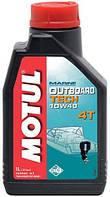 Моторное масло для водного транспорта 4-х тактное полусинтетика MOTUL OUTBOARD TECH 4T SAE 10W40 (1L)