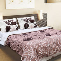 Двухспальный постельный комплект Мокко 50х70, ТЕП